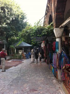 zonas peatonales Estambu