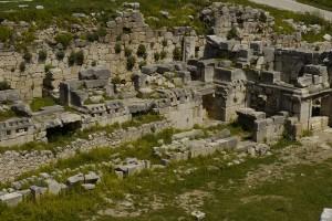 Lugares para visitar en Xanthos