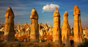 Valle del amor Capadocia Turquia