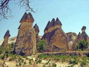 Un poco de historia de Capadocia