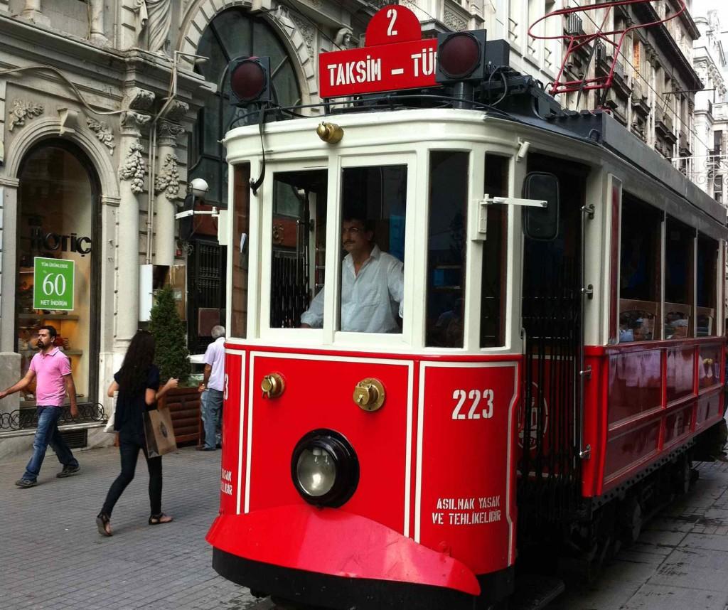 Transporte público estambul